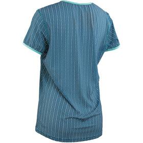 e684b2c4e9cec3 Race Face Maya maglietta a maniche corte blu su Bikester